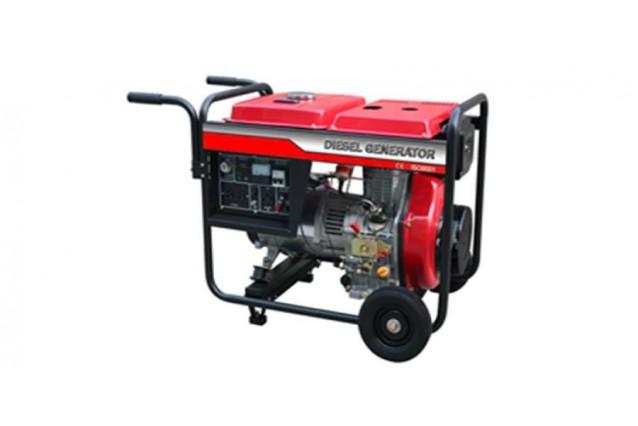 Дизельный генератор DE-6500E дизель, ручной старт