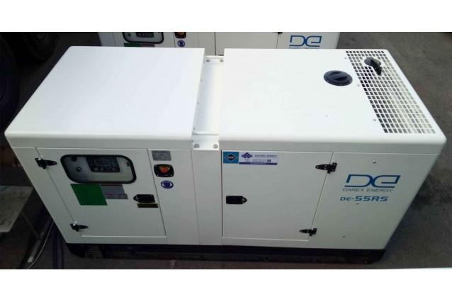 Дизельный генератор DE-55RS-Zn 40 кВт (оцинкованный)