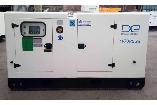 Дизельный генератор DE-70RS-Zn 50 кВт (оцинкованный)