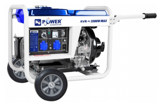 Дизельный генератор KJ4500E