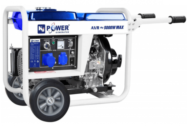 Дизельный генератор KJ6500E