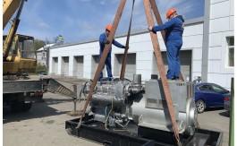 Электростанция мощностью 660 кВА с двигателем MTU и альтернатором SIEMENS.