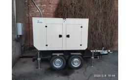 Дизельный генератор на 29 кВт для Харьковского областного центра экстренной помощи и медицины катастроф.