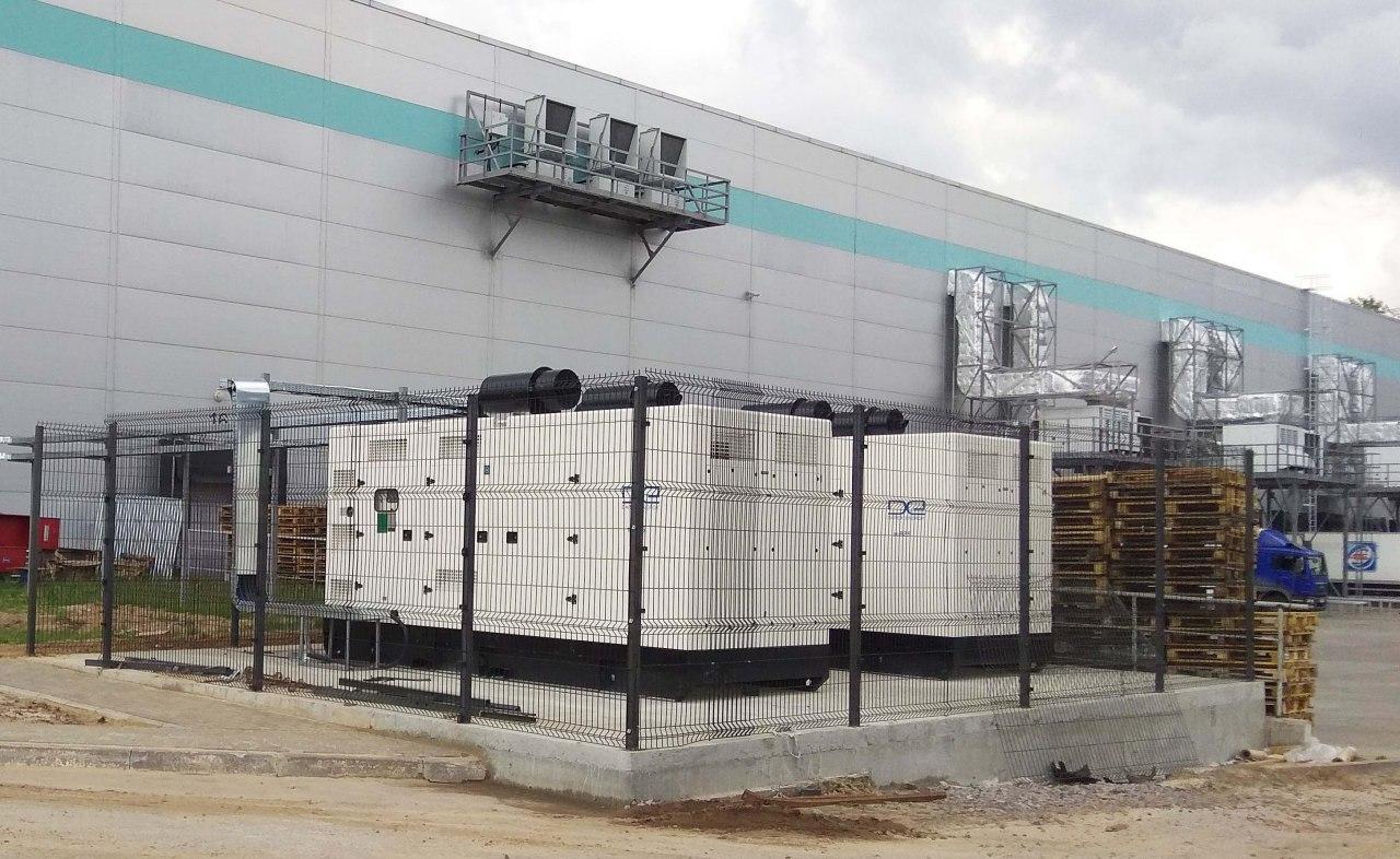 Использование дизельных электростанций и генераторов