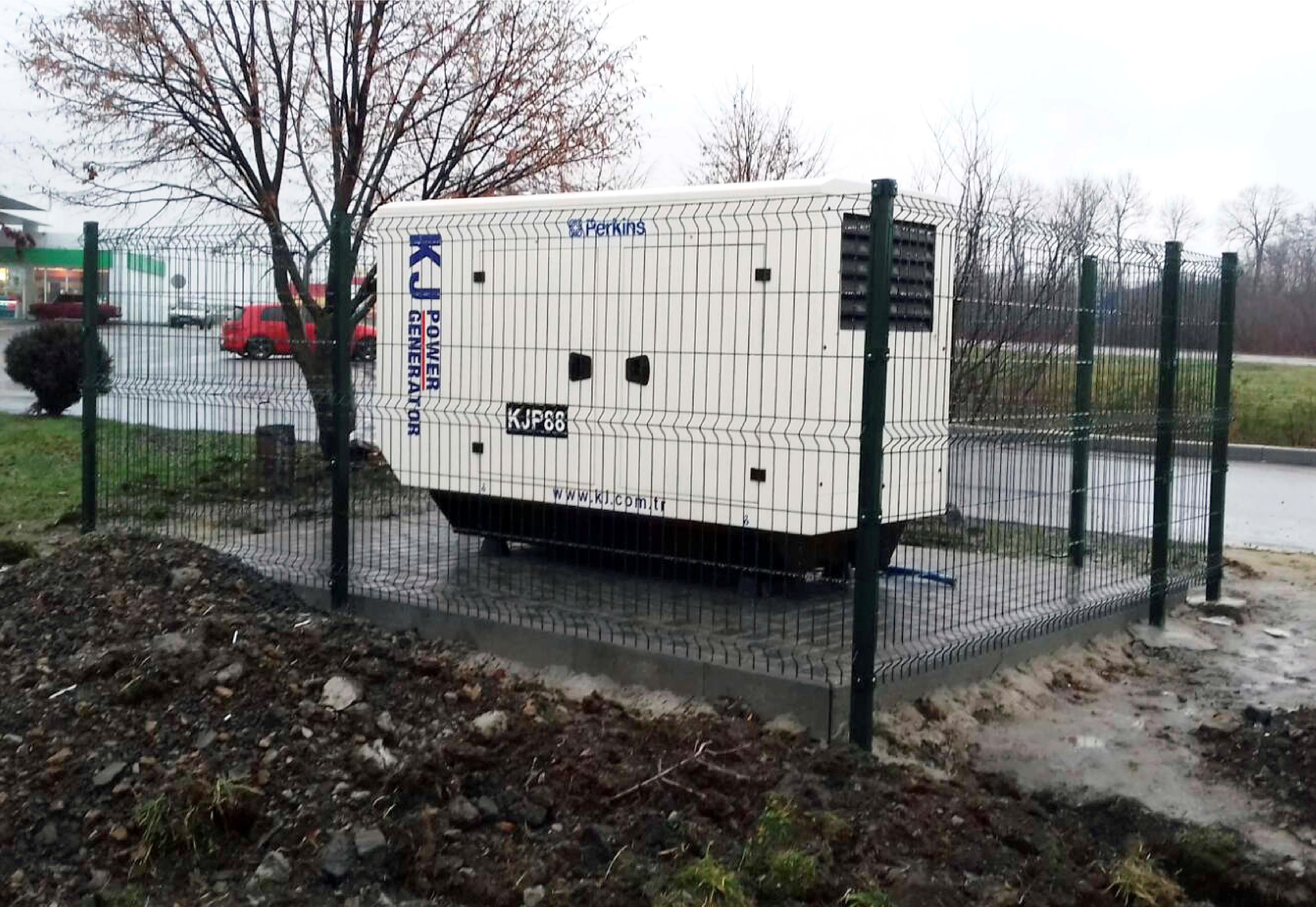 Дизельный генератор мощностью 64 кВт для АЗС «AMIC Energy»